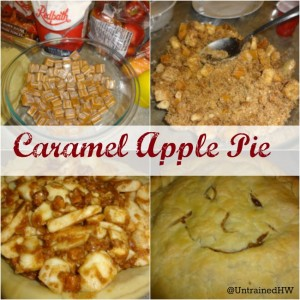 Caramel Apple Pie is an easy, amazing twist on a holiday classic.