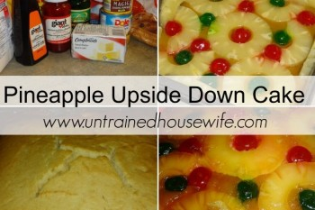 Make a festive pineapple upside down cake. @UntrainedHW