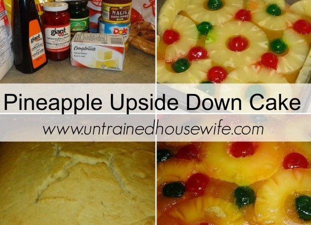 Pineapple Upside Down Cake Recipe and Tutorial