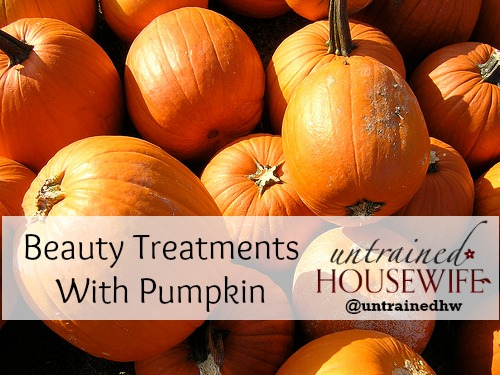 Pumpkins are everywhere this time of year - have you added them to your beauty regimen yet?