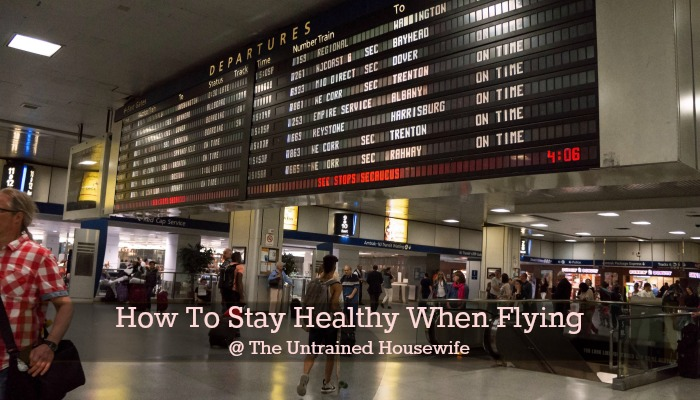 Travel Health: At the Airport
