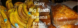 Buy up batches of overripe bananas and make this easy banana bread in your stand mixer.