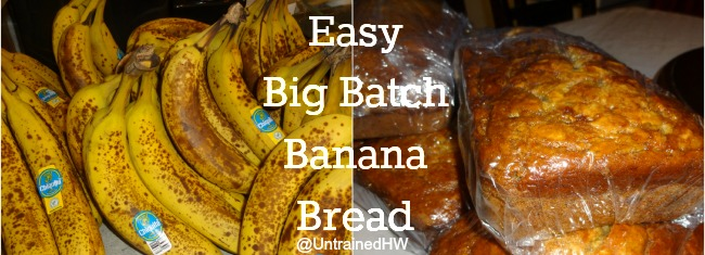 Electric Mixer Making Banana Bread ~ Easy stand mixer banana bread