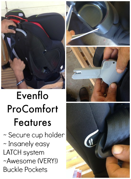 Evenflo ProComfort Car Seat Features