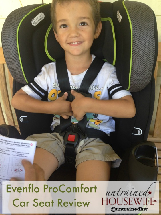 Evenflo ProComfort Car Seat Review