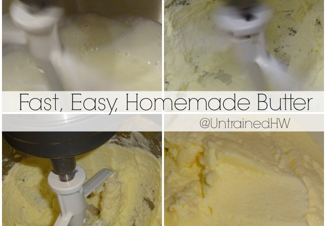 Five-Minute Homemade Butter