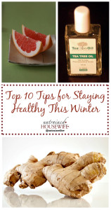 The Untrained Housewife's Top 10 Tips for Staying Healthy This Winter