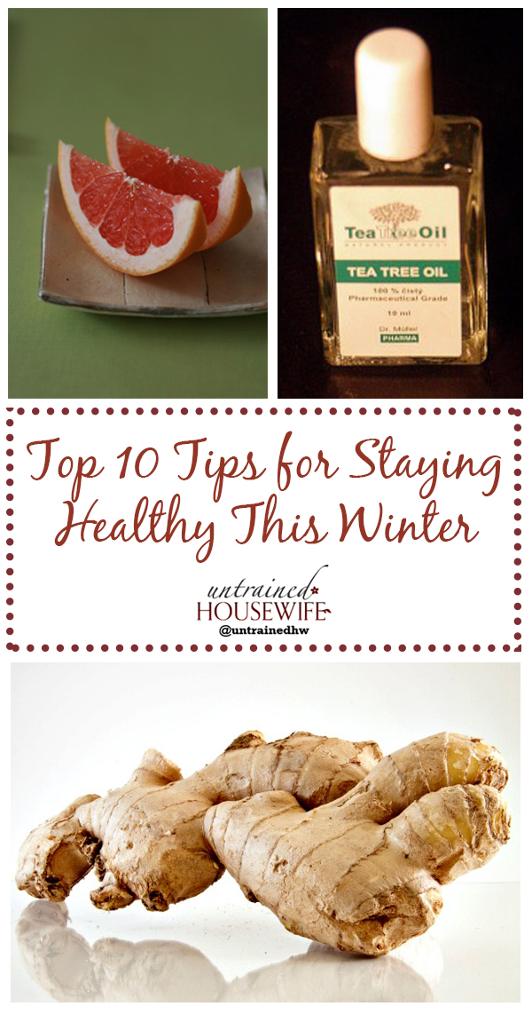 Top 10 Tips for Staying Healthy This Winter