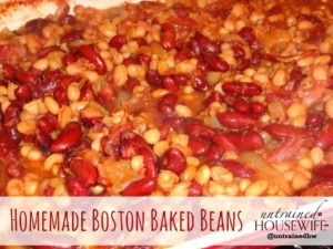 Homemade Boston Baked Beans