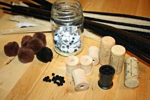 Squirrel Craft Supplies