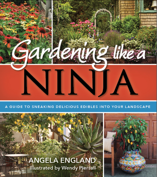 GARDENING LIKE A NINJA – AN EDIBLE LANDSCAPING COURSE AND BOOK