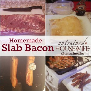 Homemade Slab Bacon