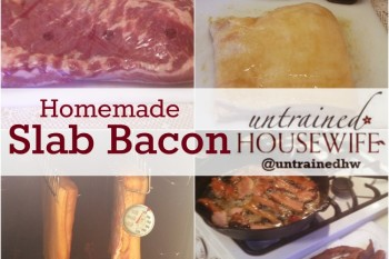 Make your own bacon right from the butcher! @UntrainedHW