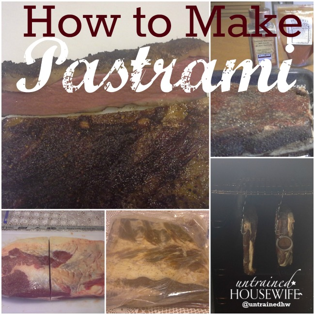 How to make your own pastrami with patience and a good dry rub. @UntrainedHW
