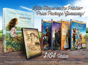 Little House on the Prairie Launch and Giveaway!