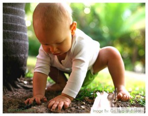 Baby Plays in Dirt