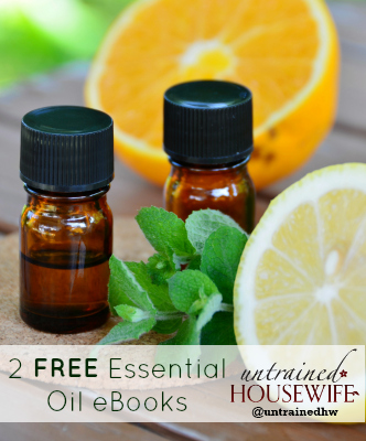 Two free essential oil ebooks