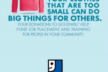 Good will donate stuff create jobs