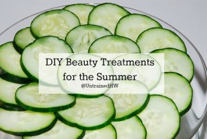 Cucumber Beauty Treatment for the Summer