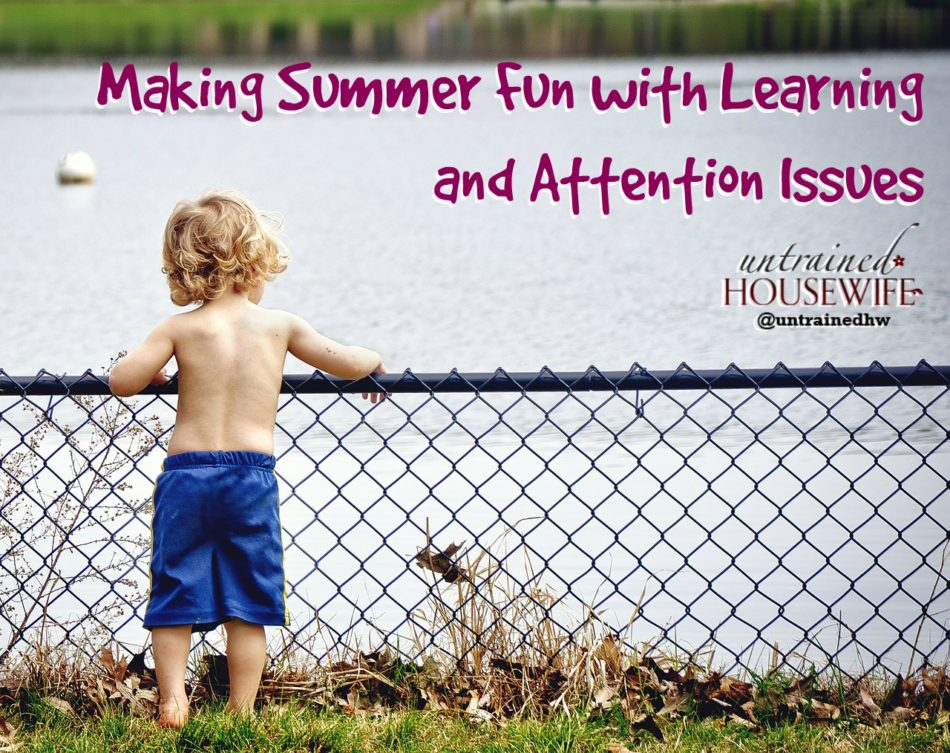 Making Summer Fun with Learning and Attention Issues