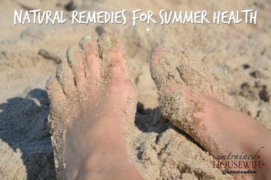 Natural Remedies for Summer Health