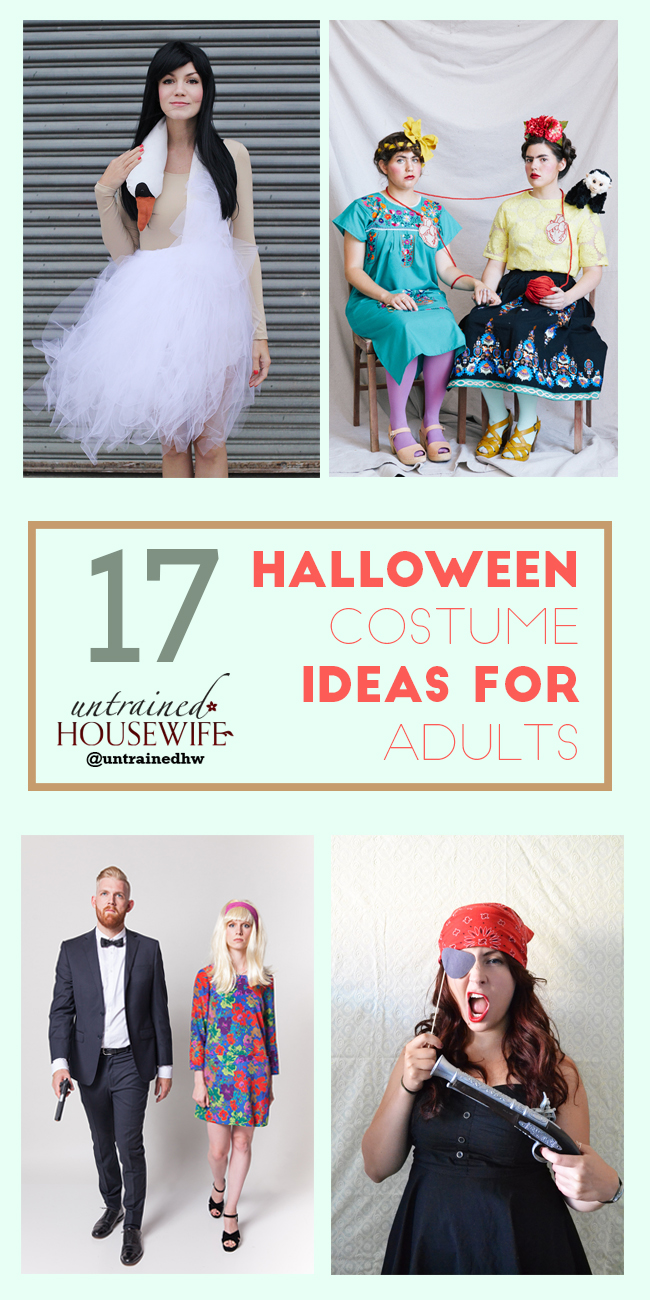17 Halloween Costume Ideas for Adults