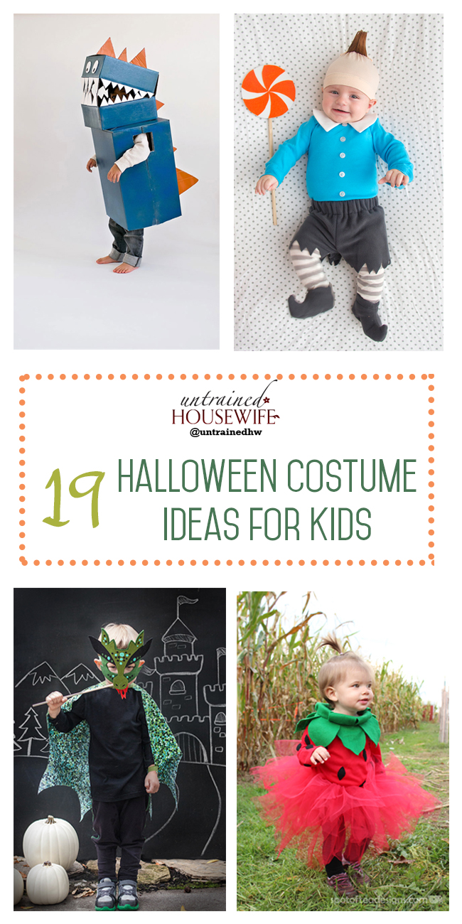 19 Halloween Costume Ideas for Kids