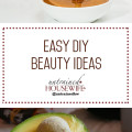 Easy DIY Beauty Ideas and Recipes @UntrainedHW #homemade #natural