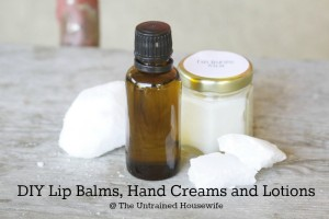 The Untrained Housewife's Ultimate Guide to Homemade Beauty Products