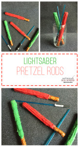 Lightsaber Pretzels #Recipe – Perfect StarWars Snack for Kids