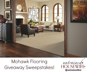 Flooring Sweepstakes for Eco-Friendly, USA-Made Carpet and Flooring (Plus the Story of a Moving Day Mishap)