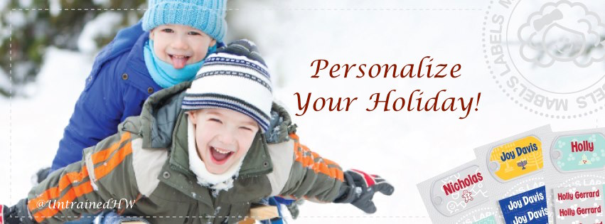 Simple Ways to Personalize Your Holiday with @Mabelhood! @UntrainedHW