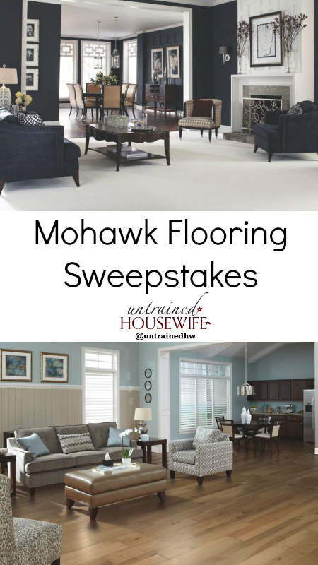 Mohawk Flooring Sweepstakes Giveaway - Eco-Friendly and Made in the USA Carpet or Hardwood for your home!