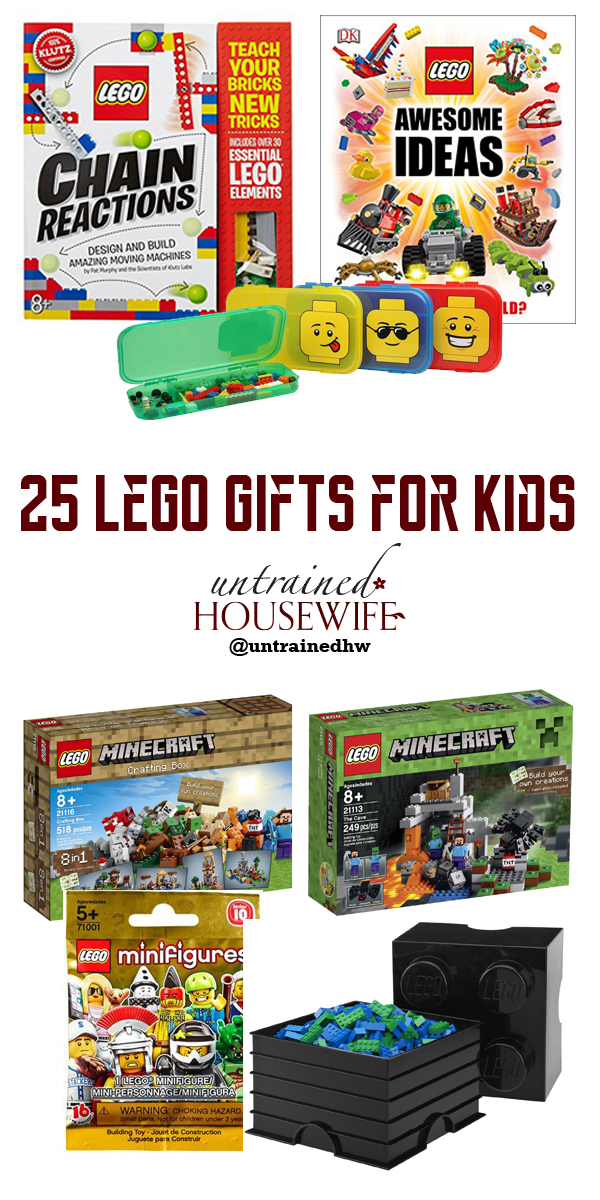 25 Lego Gifts for Kids