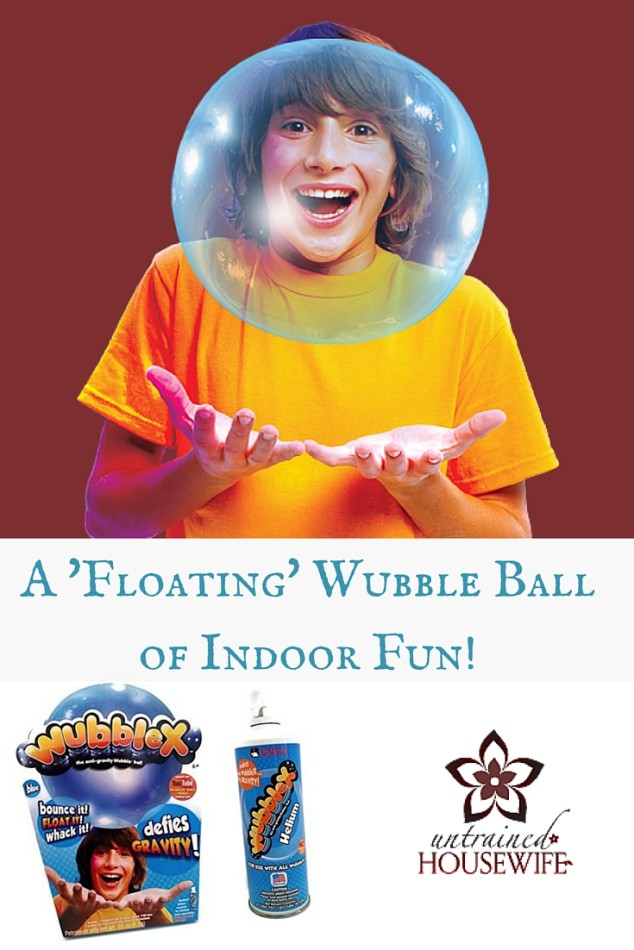 WubbleX Review - Floating Wubble Bubble Ball @UntrainedHW #play #kids #fun