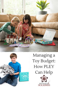 Managing a Toy Budget - How PLEY Can Help