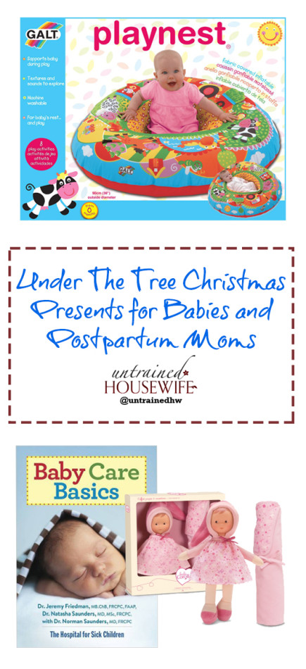 Under the Tree Must Have Gifts for New Moms and Babies @UntrainedHW #Christmas #Holiday