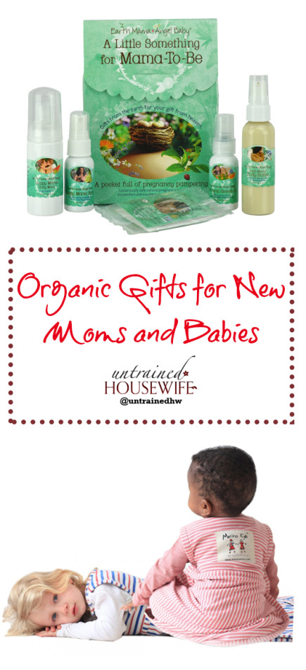 Must Have #Organic Gifts for New Moms and Babies @UntrainedHW #Christmas #Holiday