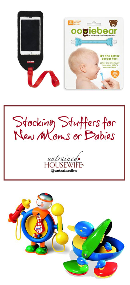 Must Have Gifts for New Moms and Babies - Stocking Stuffers @UntrainedHW #Christmas #Holiday