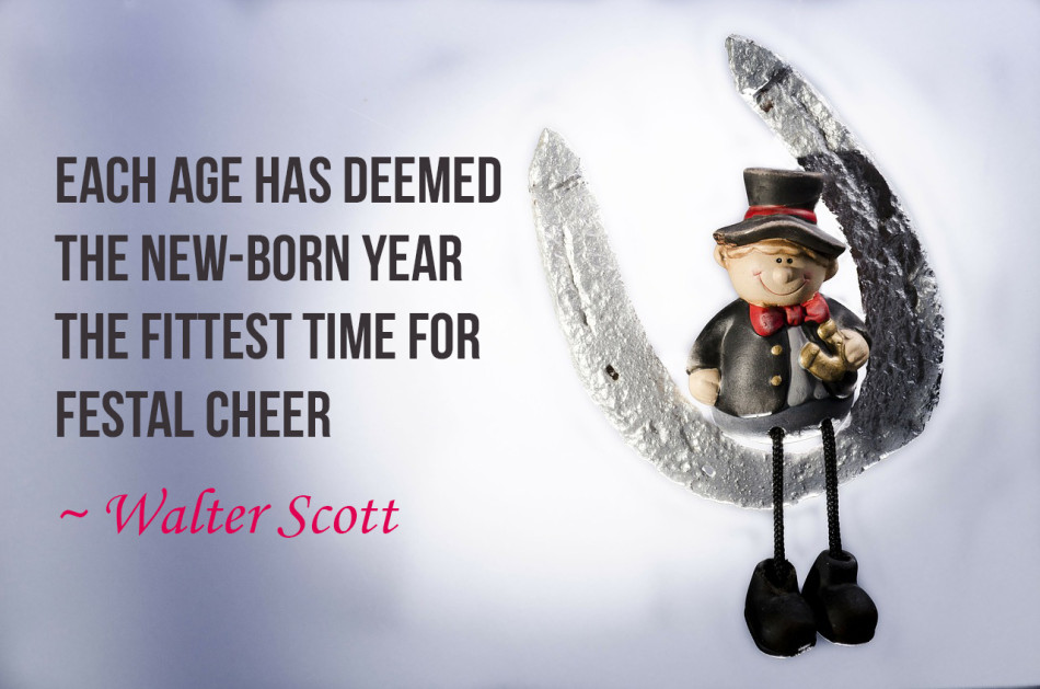 Each age has deemed the new-born year