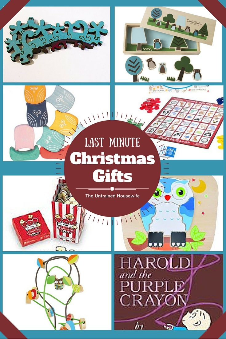 Last Minute Christmas Gift Ideas @UntrainedHW #gifts #holiday #kids #family