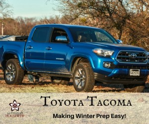 Toyota Tacoma 2016 – Making Winter Prep Easy on the Homestead #ToyotaOKC