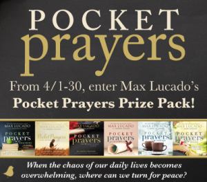Pocket Prayers Giveaway from #Litfuse @UntrainedHW