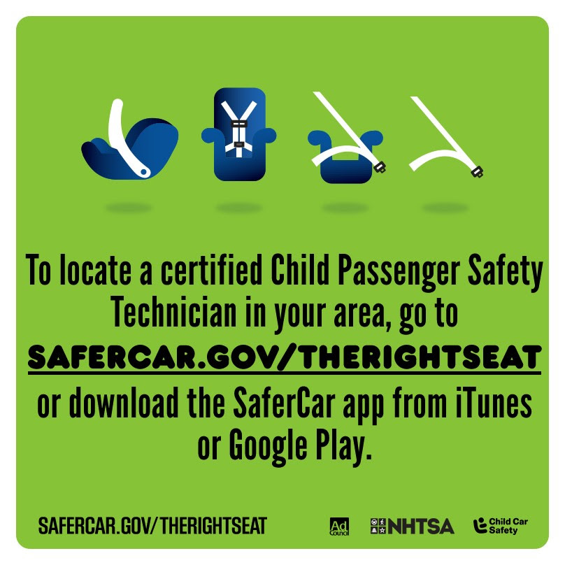 Passenger safety starts with the right fitting car seat for the right child.