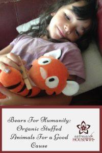 Bears For Humanity Organic Stuffed Animals