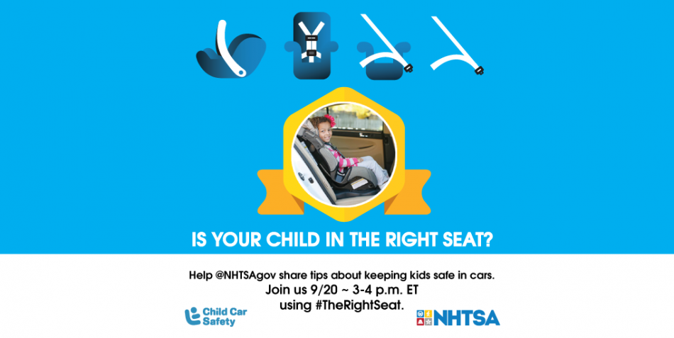 Car Safety for Kids Twitter Chat This Week!