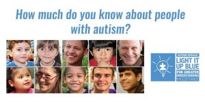 Help Us #LightItUpBlue for Autism Awareness