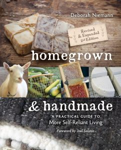 Homegrown and Handmade – Ten Skills to Learn Plus a Giveaway!